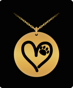 Dog Paw On My Heart